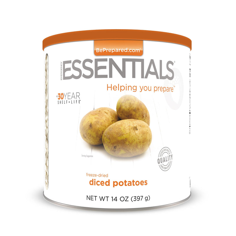 Emergency Essentials® Freeze-Dried Potato Dices Large Can (4625784307852)