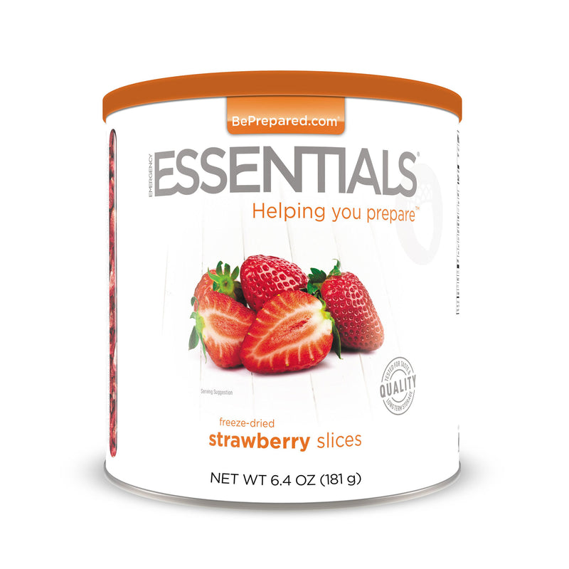 Emergency Essentials® Freeze-Dried Strawberry Slices Large Can (4626611110028)