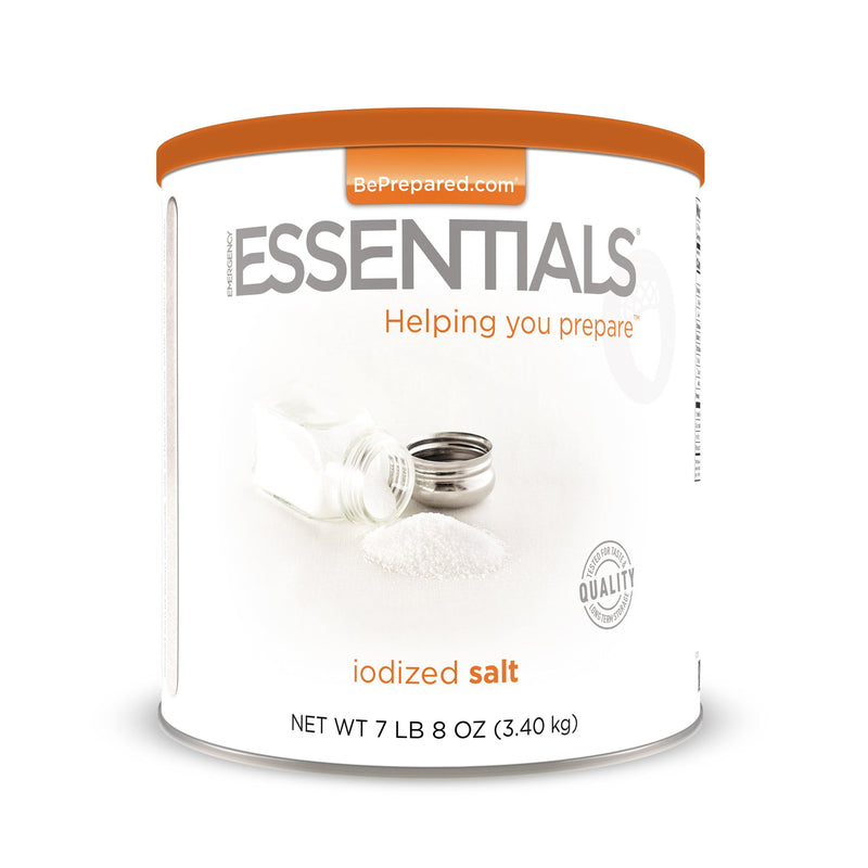 Emergency Essentials® Iodized Salt Large Can (4625795481740)