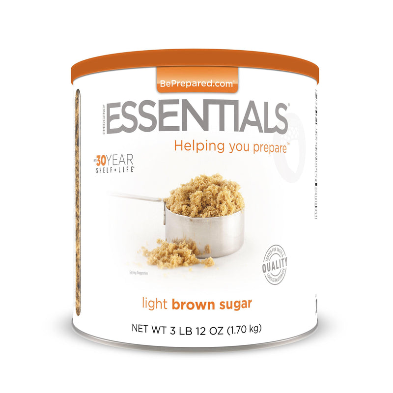 Emergency Essentials® Light Brown Sugar Large Can (4625797578892)