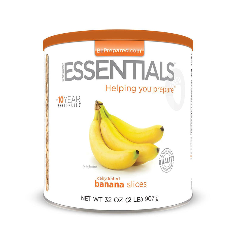 Emergency Essentials® Dehydrated Banana Slices Large Can (4626104647820)
