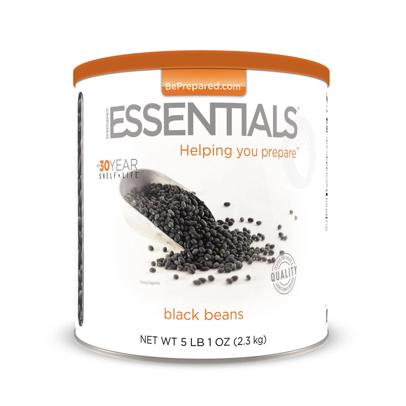 Emergency Essentials® Black Beans Large Can (4625818386572)