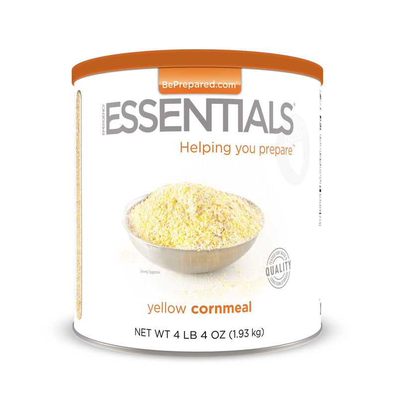 Emergency Essentials® Yellow Cornmeal Large Can (4625822056588)