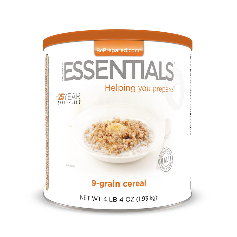 Emergency Essentials® 9-Grain Cereal Large Can (4625823596684)