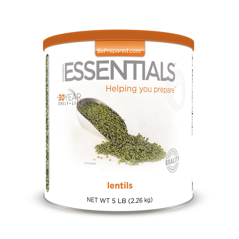 Emergency Essentials® Lentils Large Can (4625826152588)
