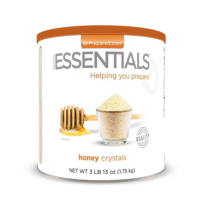 Emergency Essentials® Honey Crystals Large Can (4626436030604)
