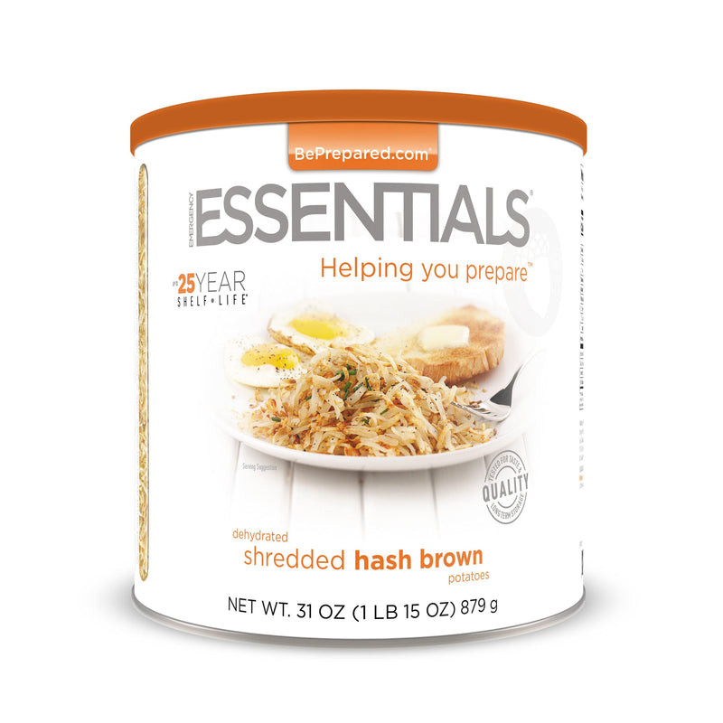 Emergency Essentials® Hash Brown Potatoes Large Can (4626215764108)
