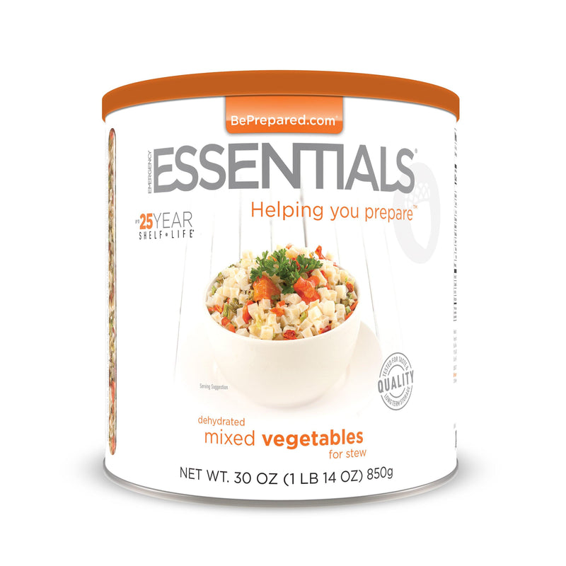 Emergency Essentials® Mixed Vegetables for Stew Large Can (4625843847308)