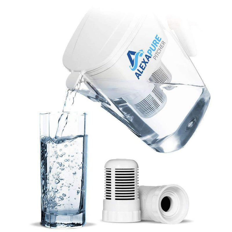 Alexapure Pitcher Water Filter - My Patriot Supply (4663487135884)