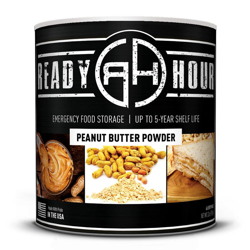 Ready Hour Peanut Butter Powder (65 servings) (4663507484812)