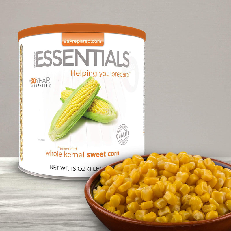 Emergency Essentials® Freeze-Dried Super Sweet Corn Large Can (4626096488588)