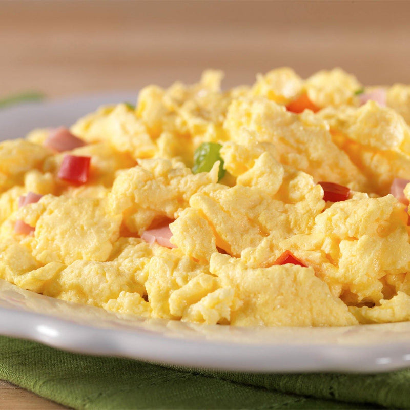 Mountain House® Scrambled Eggs with Ham and Red and Green Peppers (2 Servings) (4625878319244)