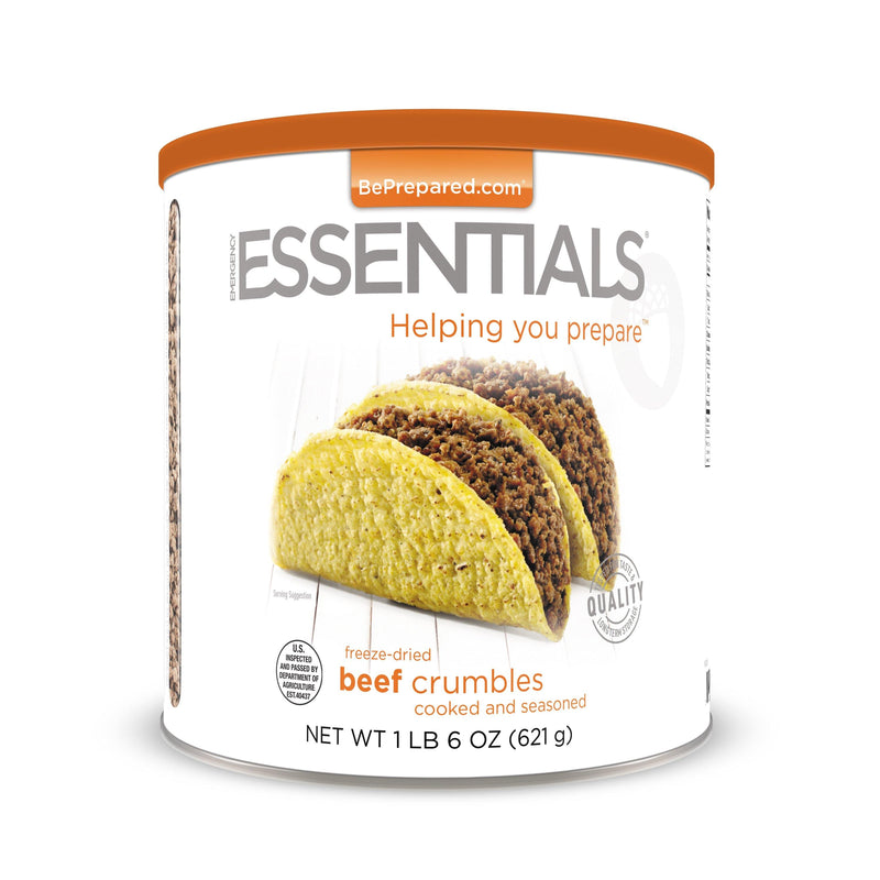 Emergency Essentials® Freeze-Dried Ground Beef (Cooked) (4626449334412)