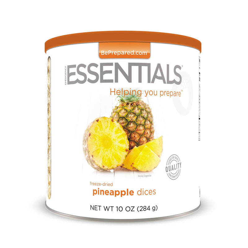 Emergency Essentials® Freeze-Dried Pineapple Dices Large Can (4625783685260)