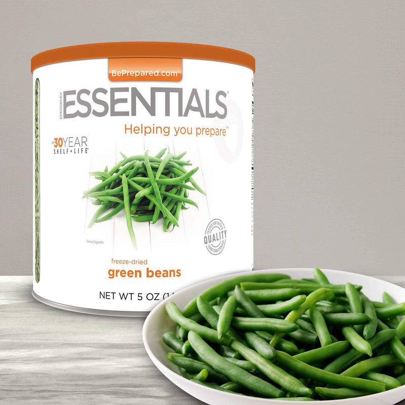Emergency Essentials® Freeze-Dried Green Beans Large Can (4625764057228)