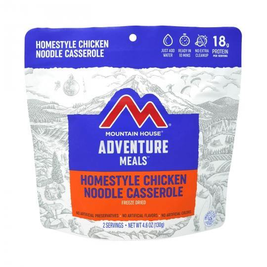 Mountain House® Homestyle Chicken Noodle Casserole (3 Servings) (4626376163468)