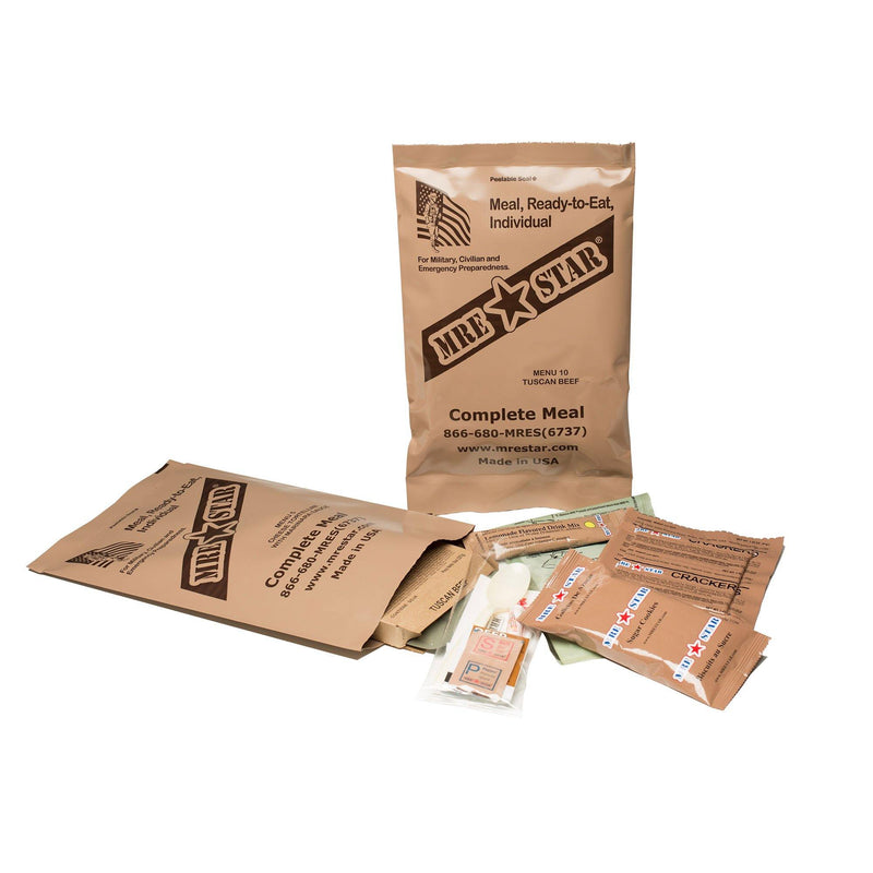 12 Complete Meal MRE Food Supply (4626530893964)