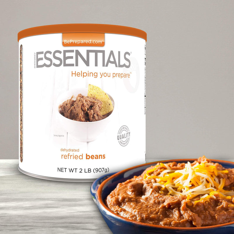 Emergency Essentials® Refried Beans Large Can (4625816584332)