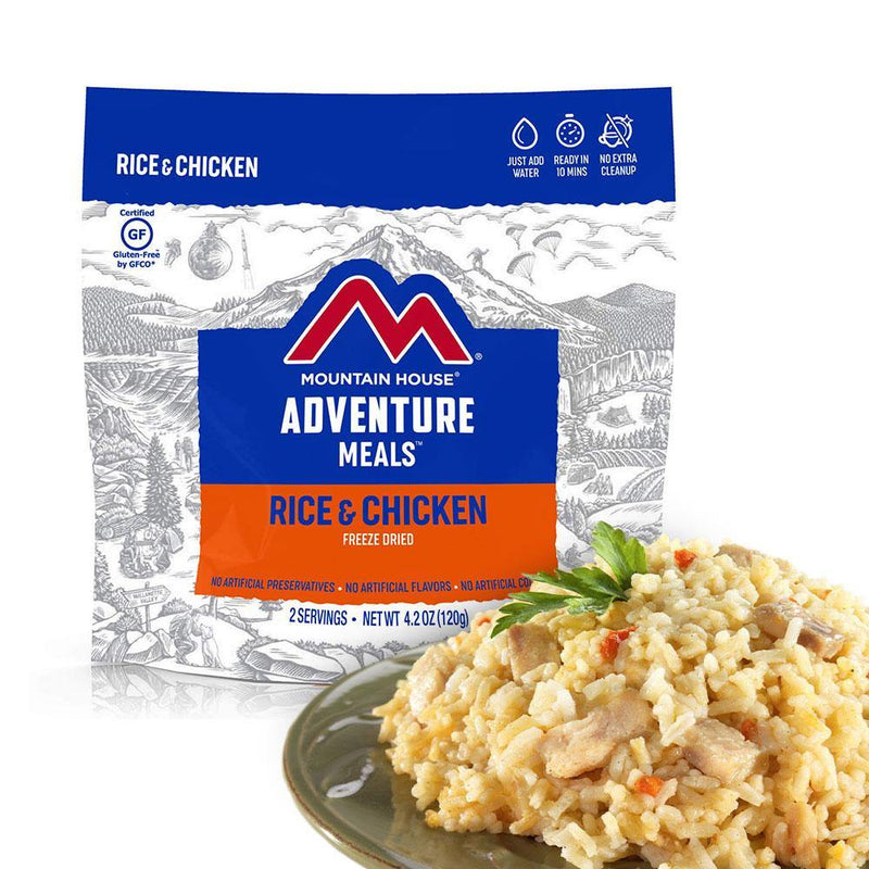 Mountain House® Rice and Chicken (2 Servings) (4625868488844)