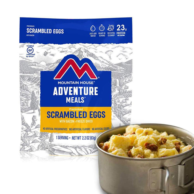 Mountain House® Scrambled Eggs with Bacon (1 Servings) (4625879072908)