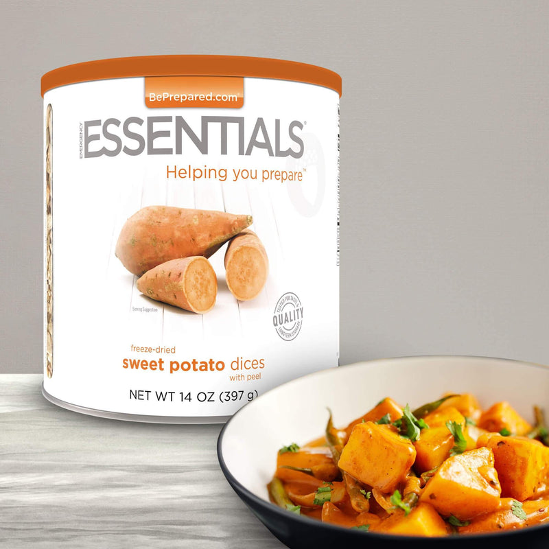 Emergency Essentials® Freeze-Dried Sweet Potato Dices with Peel Large Can (4625784930444)