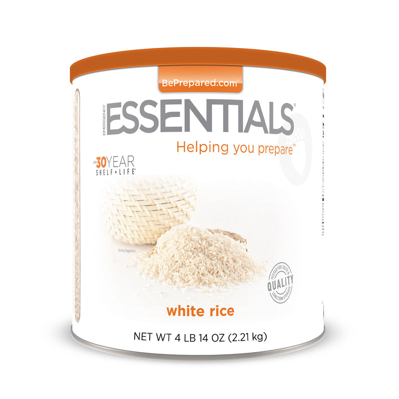 Emergency Essentials® White Rice Large Can (4625818714252)