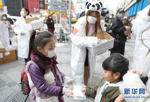 Media focus: emergency supplies of face masks appear in the world
