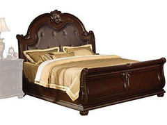 Image of 1PerfectChoice ANONDALE TRADITIONAL CHERRY EASTERN KING SLEIGH BED