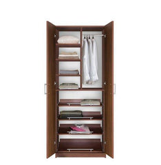 Bella Wardrobe Closet - Full Extension Sliding Shelves & Hanging Storage