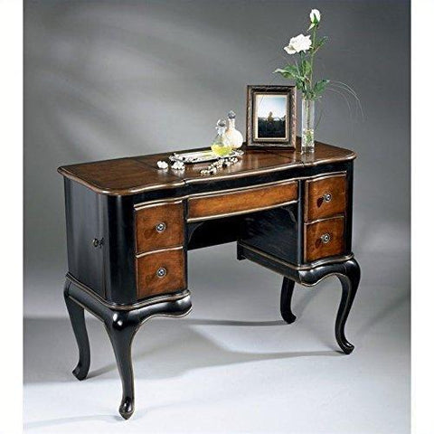 Beaumont Lane Wood Makeup Vanity Table