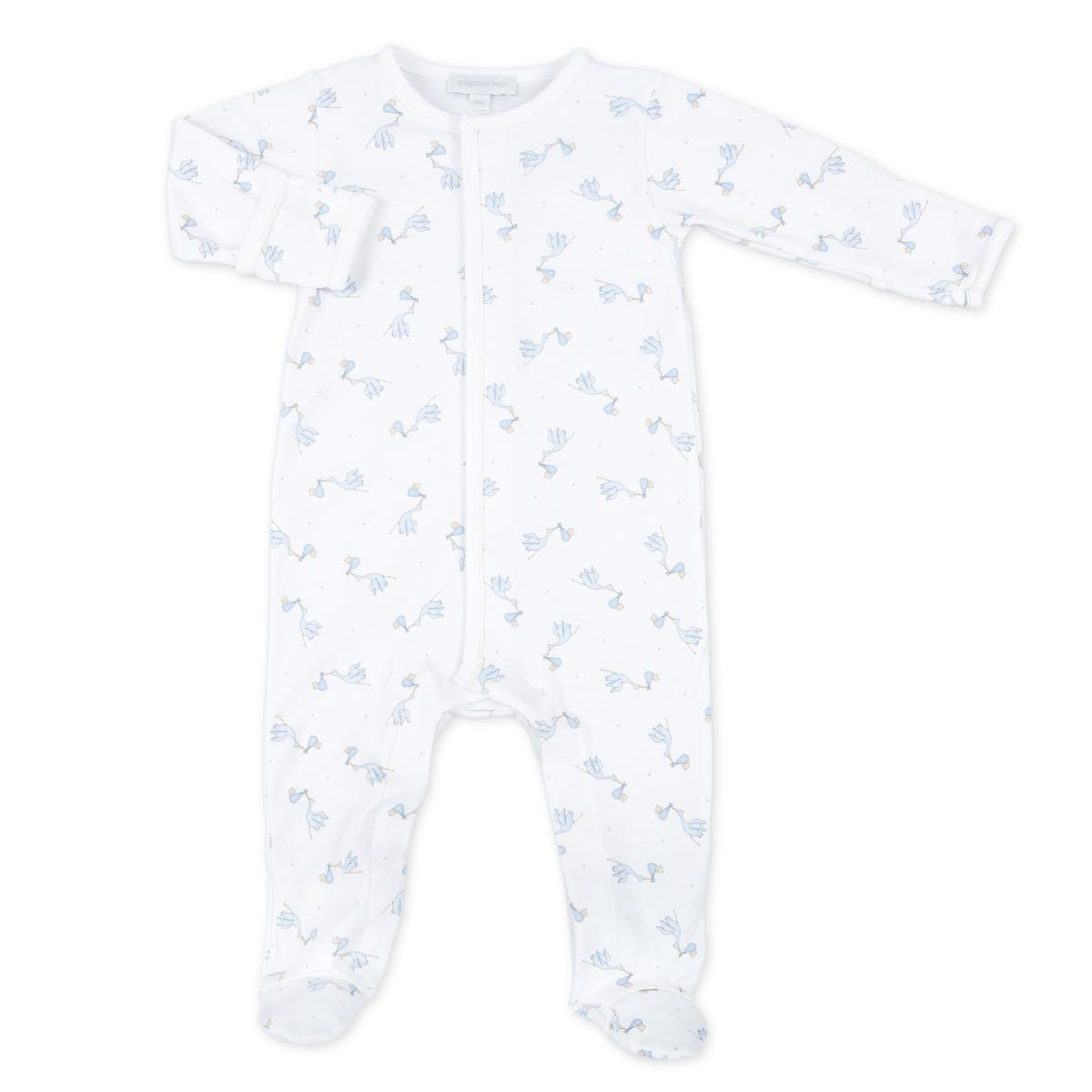 Blue Worth the Wait Printed Babygrow - Chic Petit