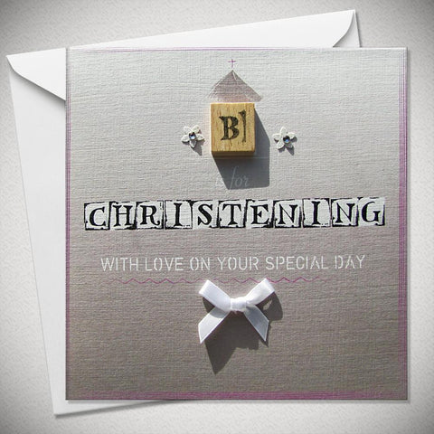 C is for Christening - With Love on Your Special Day - Chic Petit