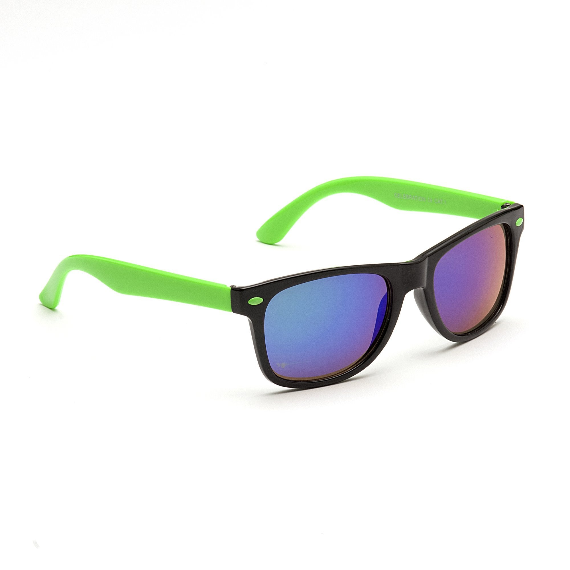 Celebrations Children's Sunglasses - Green and Black - Chic Petit