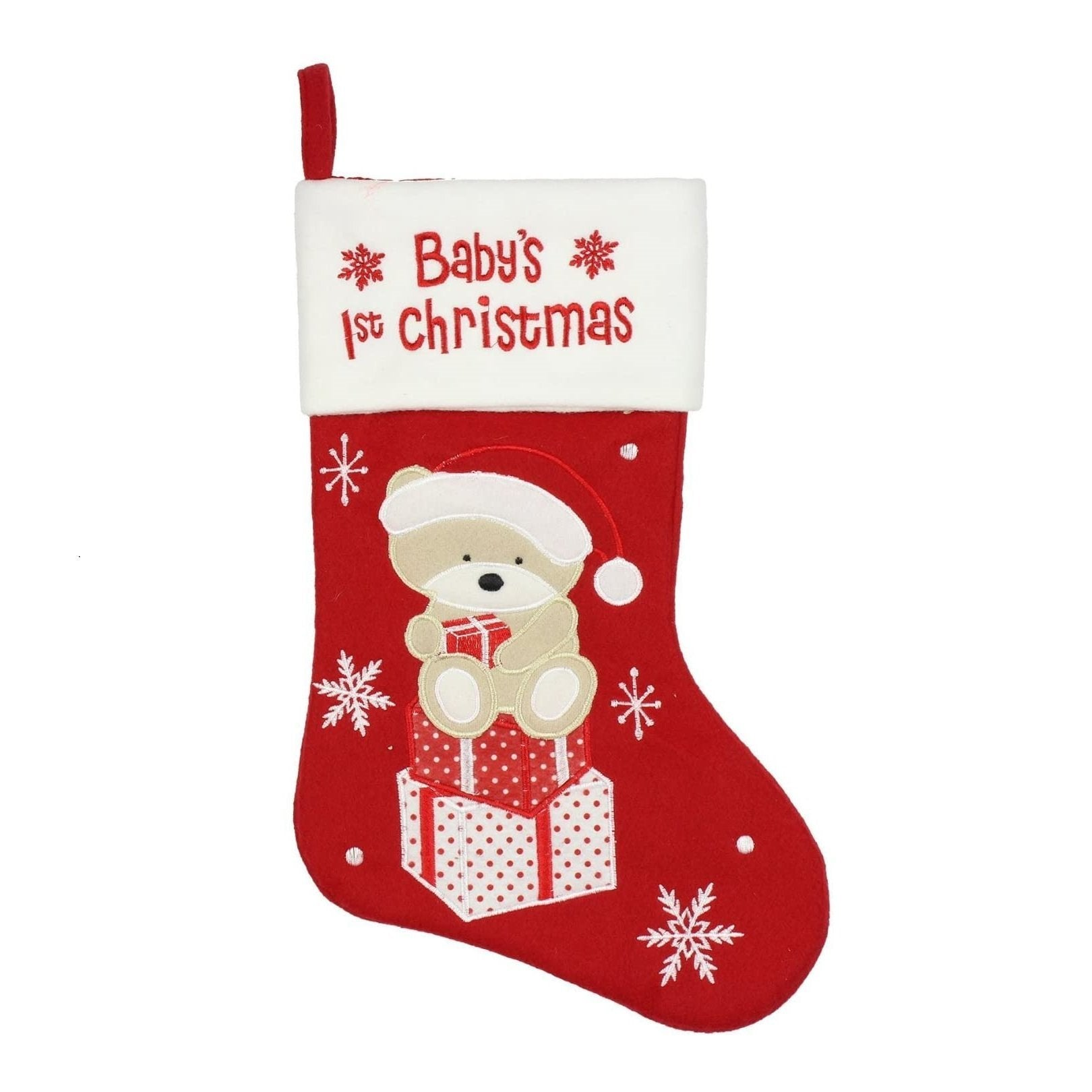 Christmas Stocking - Baby's 1st Christmas - Chic Petit