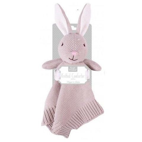 Knitted Bunny Comforter - Chic Petit