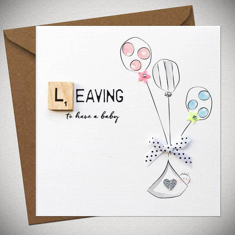 Leaving Card - To Have a baby - Chic Petit