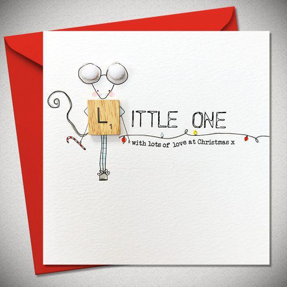 Little One - With Lots of Love at Christmas x - Chic Petit