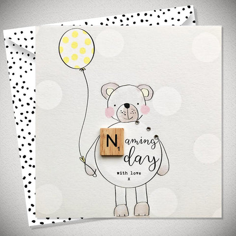 Naming Day Card - With Love - Chic Petit