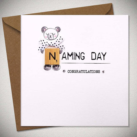 Naming Day – Congratulations Card - Chic Petit