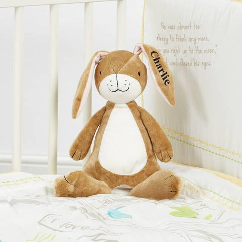Personalised Guess How Much I Love You Plush Rattle - Chic Petit
