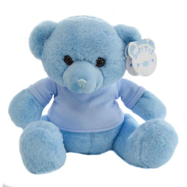 Personalised Teddy Bear For New Baby Boy or Girl - My First Teddy - Chic Petit