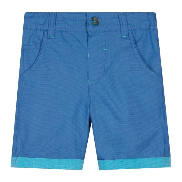 Ted Baker Baby Boys Blue Textured Shorts - Chic Petit