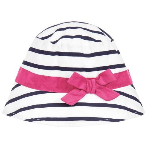 Weekend a la Mer Girls Summer Hat - Chic Petit