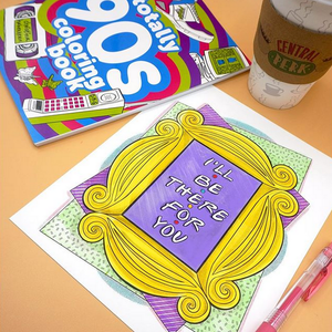 Totally '90s Coloring Book