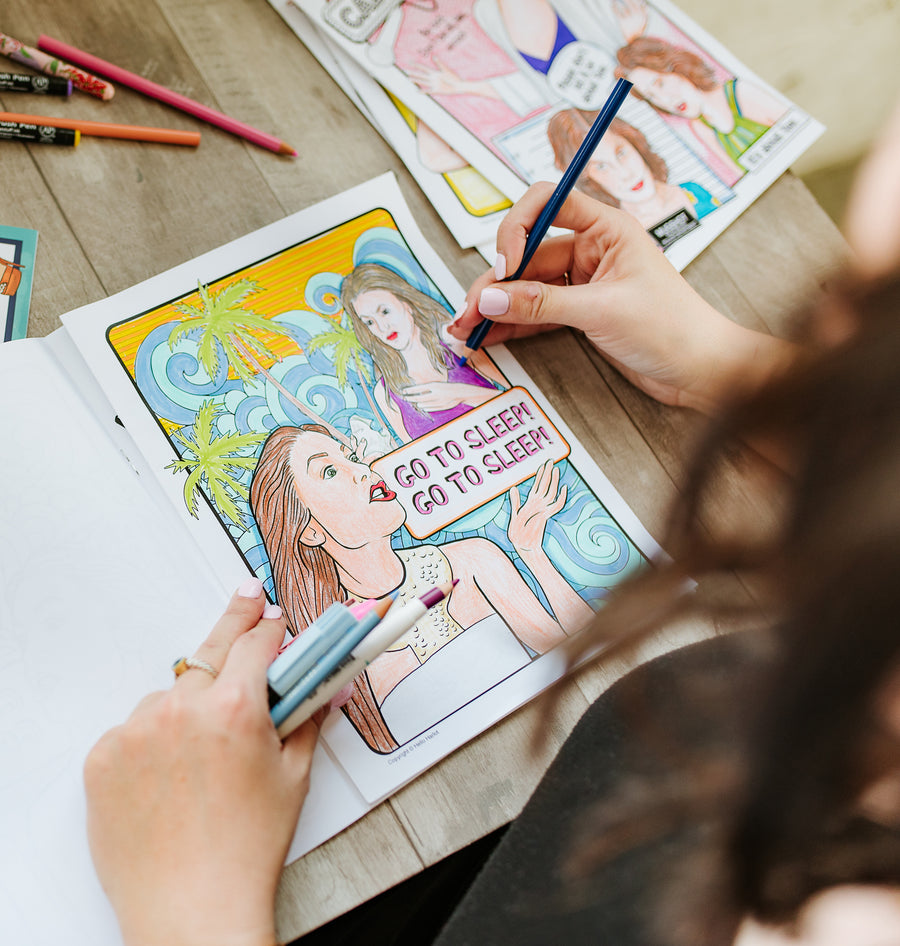 RHONY Coloring Book
