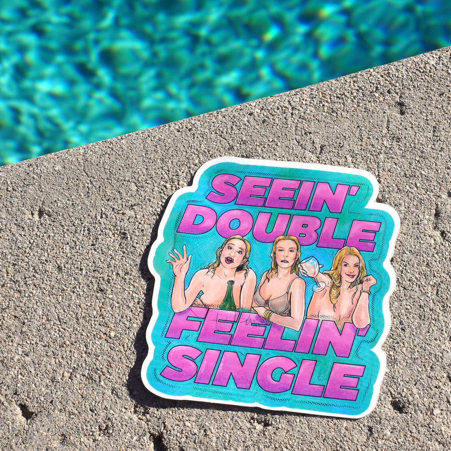 Housewives Hamptons Pool Sticker