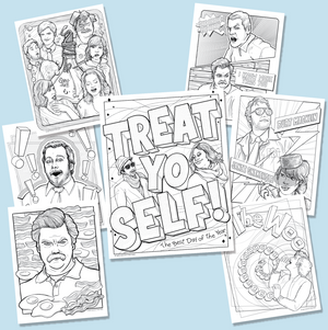 Parks and Rec Coloring Book