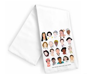 Women of History Tea Towel