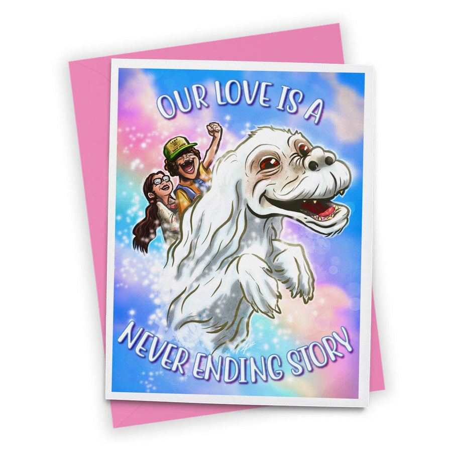 Stranger Neverending Greeting Card