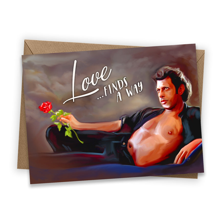 Jeff Shirtless Greeting Card